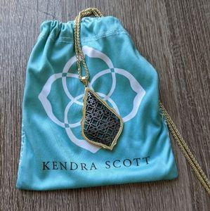 Kendra Scott - Aiden Necklace - Gold/Gunmetal Mix